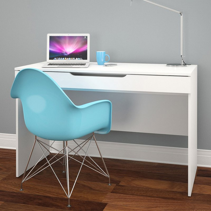Nexera Arobas Desk - White