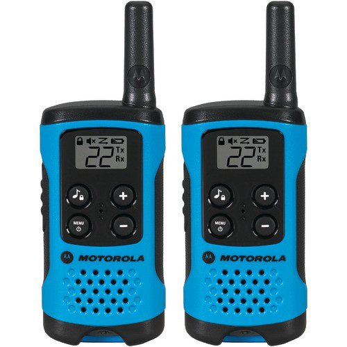 Motorola T100 Talkabout Radio, 2-Pack