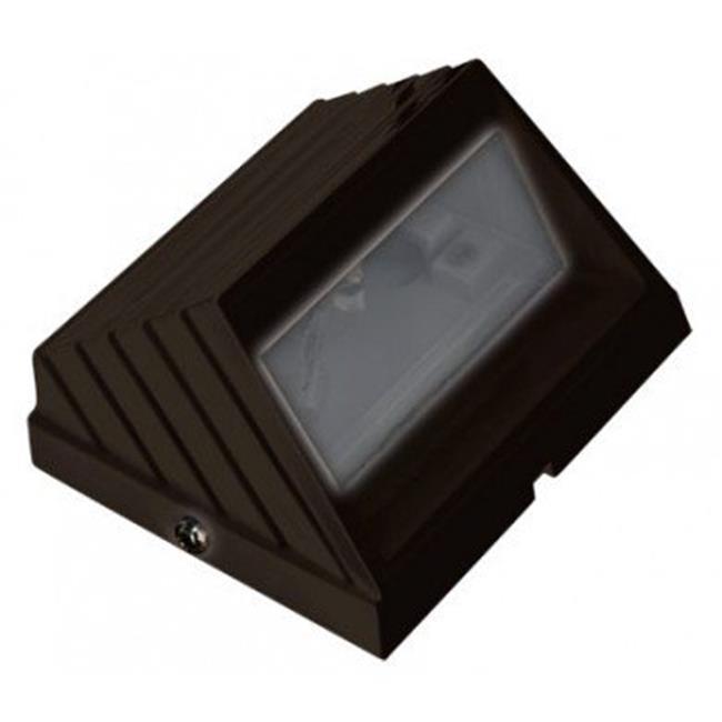 Dabmar Lighting LV-LED706-BZ 2.5W & 12V JC-LED 15 LEDs Hooded Square Step Light - Bronze - image 1 of 1