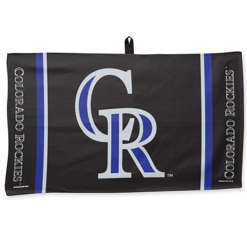 """Colorado Rockies WinCraft 14"""" x 24"""" Waffle Towel - No Size"""
