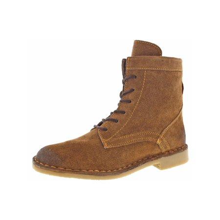 Naughty Monkey - Naughty Monkey Womens Shasta Peak Sueded Burnished Combat  Boots - Walmart.com abf0104fde