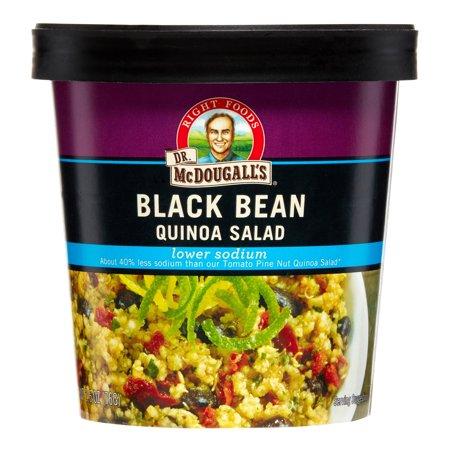 Quinoa Salad, Black Bean, Low Sodium, 2.6 oz
