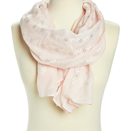 Scarfs for Women Floral Winter Fashion Scarves Lightweight Evening Prom Scarf Flower Casual Long Neck Wraps Gifts Online by Oussum