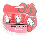 Hello Kitty Hello Panda Sanrio Sakar Headphones Earbuds for All Audio_ Video Devices](Panda Ears)