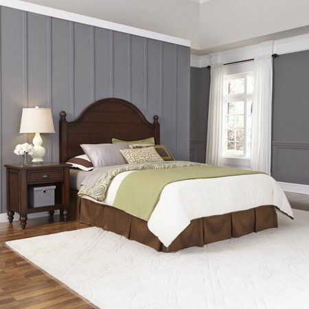 Sale Home Styles Country Comfort King Headboard And Night Stand Piece Bedroom Set