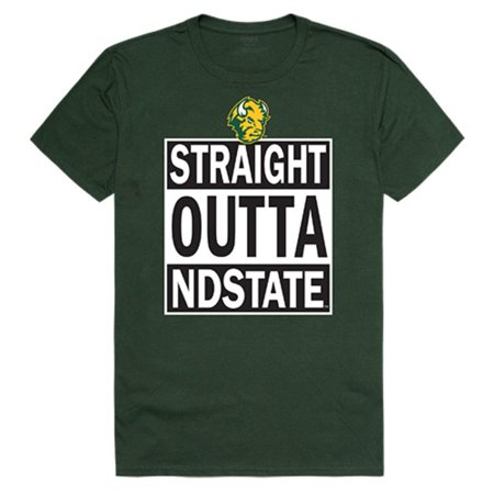 North Dakota State University Bison Thundering Herd Straight Outta T-Shirt