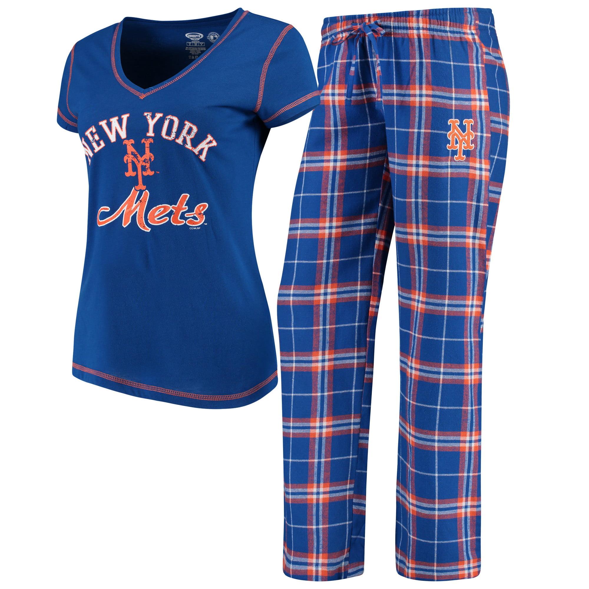 New York Mets Concepts Sport Women's Duo Pants & Top Set - Royal