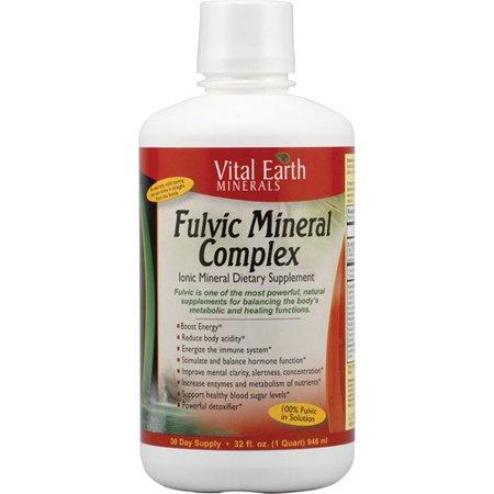 Vital Earth Minerals Fulvic Mineral Complex -- 32 fl oz