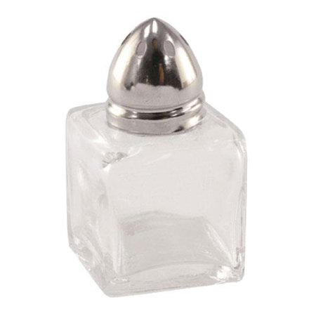 Update - SK-CUC - 1/2 oz Square Glass Salt & Pepper Shaker