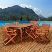 Amazonia Carp 9 Piece Rectangular Dining Set
