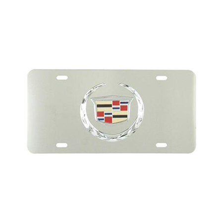 Pilot Lp051 Stainless Steel Plate    Cadillac Chrome