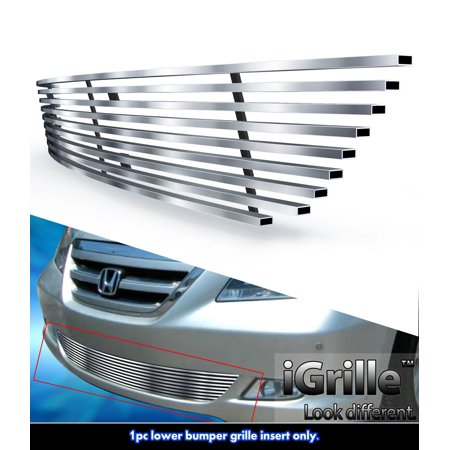 Fits 05-07 Honda Odyssey Bumper Stainless Steel Billet Grille Insert