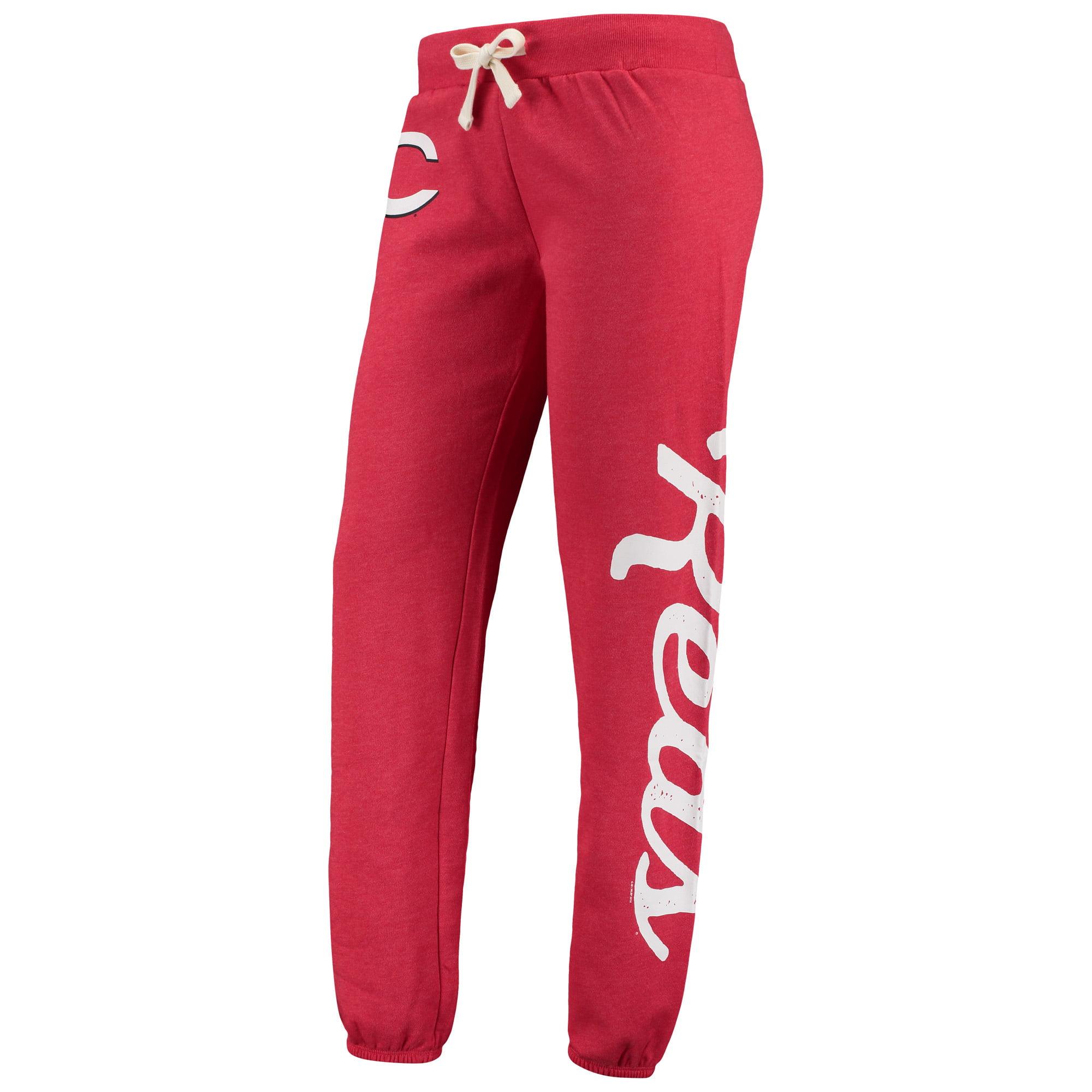 Cincinnati Reds G-III 4Her by Carl Banks Women's Scrimmage Pants - Red