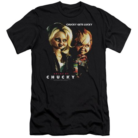Bride Of Chucky - Chucky Gets Lucky - Slim Fit Short Sleeve Shirt - -