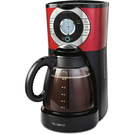Coffee Maker Cleaning Mr Coffee : Mr. Coffee 12-Cup Programmable Coffee Maker, BVMC-EJX36WM - Walmart.com
