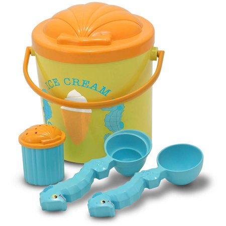 Melissa & Doug Sunny Patch Speck Seahorse Sand Ice Cream Play Set (Melissa And Doug Sand Toys)