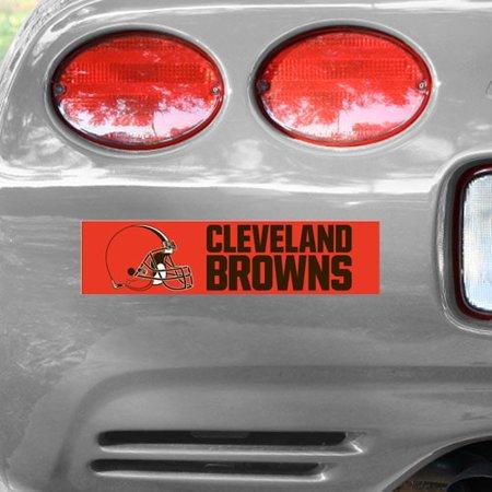 Cleveland Browns WinCraft Bumper Sticker