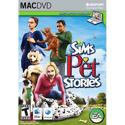 Sims Pet Stories (MAC ONLY including Laptop friendly) Game