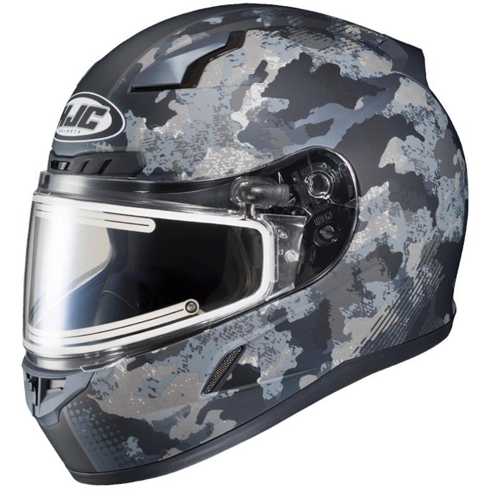 HJC CL-17 Void Snow Helmet with Electric Shield