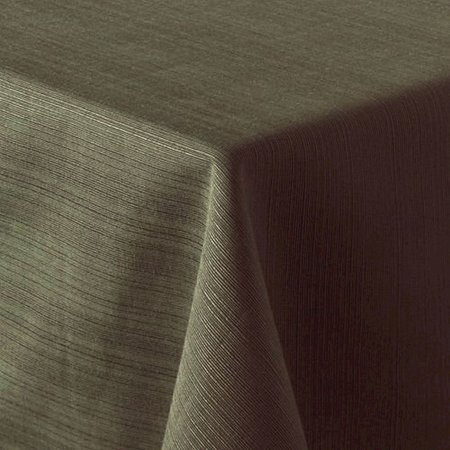Food Network Sage Green Ribbed Tablecloth Fabric Table