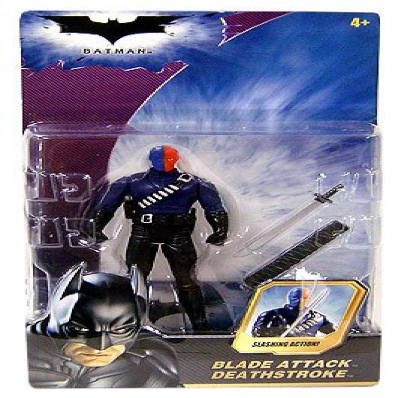 Batman Dark Knight Movie Action Figure Blade Attack Deathstroke by
