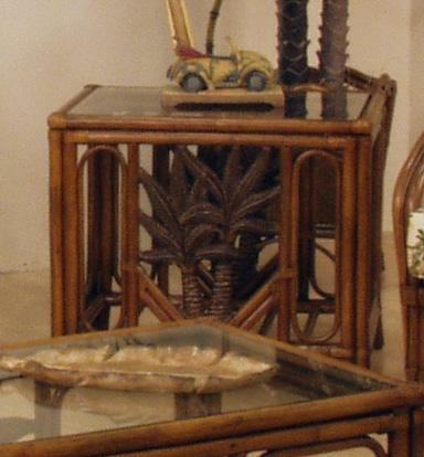 Rattan & Wicker End table
