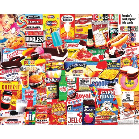 White Mountain Puzzles Things I Ate As A Kid - 1000 Piece Jigsaw Puzzle - Halloween Jigsaw Puzzles To Buy