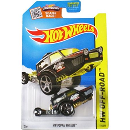 Hot Wheels 2015 HW Off-Road HW Poppa Wheelie 115/250, (Best Off Road Wheel Brands)