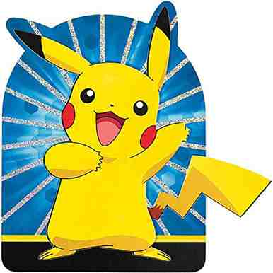 Pokemon Pikachu Friends Jumbo Deluxe Invitations 8 Per Pack