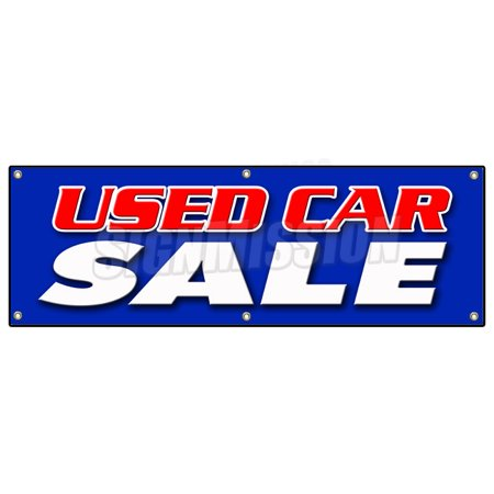 72   Used Car Sale Banner Sign Cars Sell Signs Dealer Dealership Store Buy Here