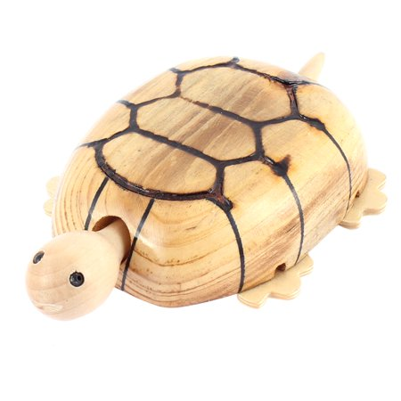 - Hand Carved Decorative Wood Wooden Tortoise Sculpture Craft Gift