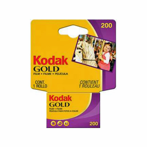 Kodak Gold 200 Color Negative Film (ISO 200) 35mm