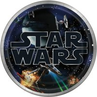 Classic Star Wars Paper Dinner Plates, 9in, 24ct