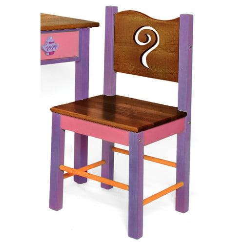 Room Magic Little Girl Tea Set Desk Chair