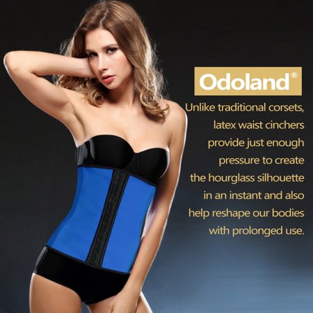 0ee958ca2 Women Body Shaper Latex Sport Girdle Waist Training Corset Waist Shaper  Underbust Shapewear Size S ...