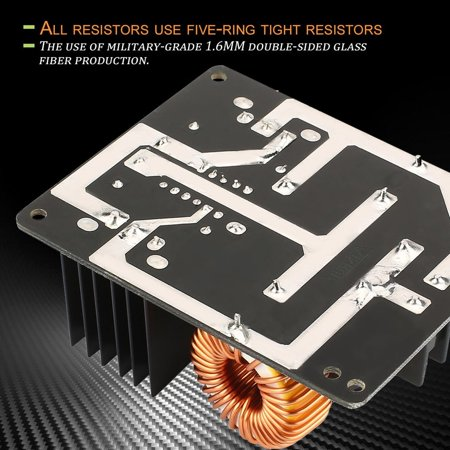 1000w Low Frequency Driver - Portable And Durable 1000W 20A ZVS Low Voltage Induction Heating Coil Module Flyback Driver Heater DC Power Supply
