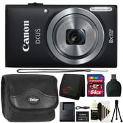 Canon Powershot Ixus 185 / ELPH 180 20MP Compact Digital Camera Black with 64GB Accessory Kit - Best Reviews Guide