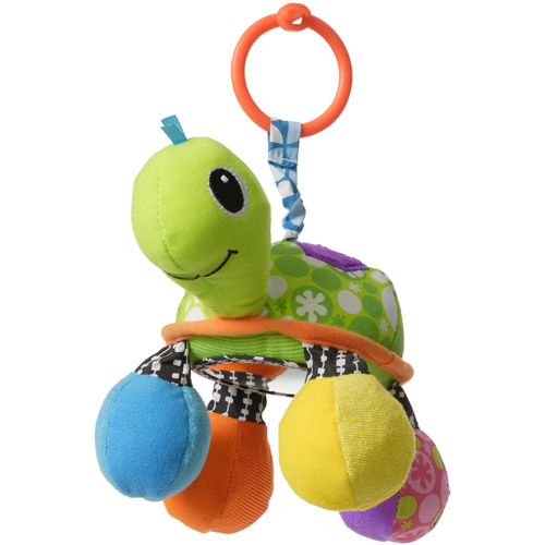 Infantino Topsy Turvy Turtle Mirror Pal Toy