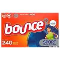 Bounce Dryer Sheets, Febreze Sport Odor Defense, 240 Ct