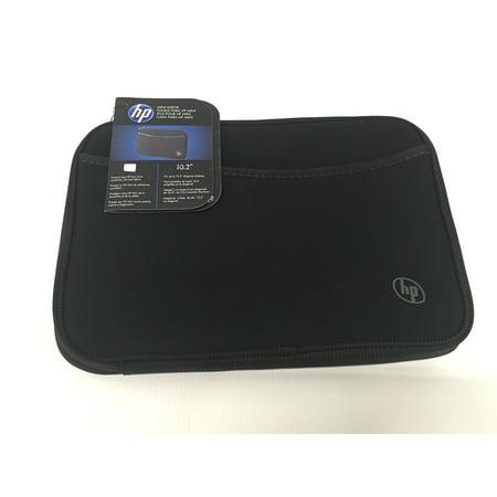 Hewlett Packard  HP Mini Sleeve - Notebook Sleeve - 10.1 - Black Hewlett Packard Face