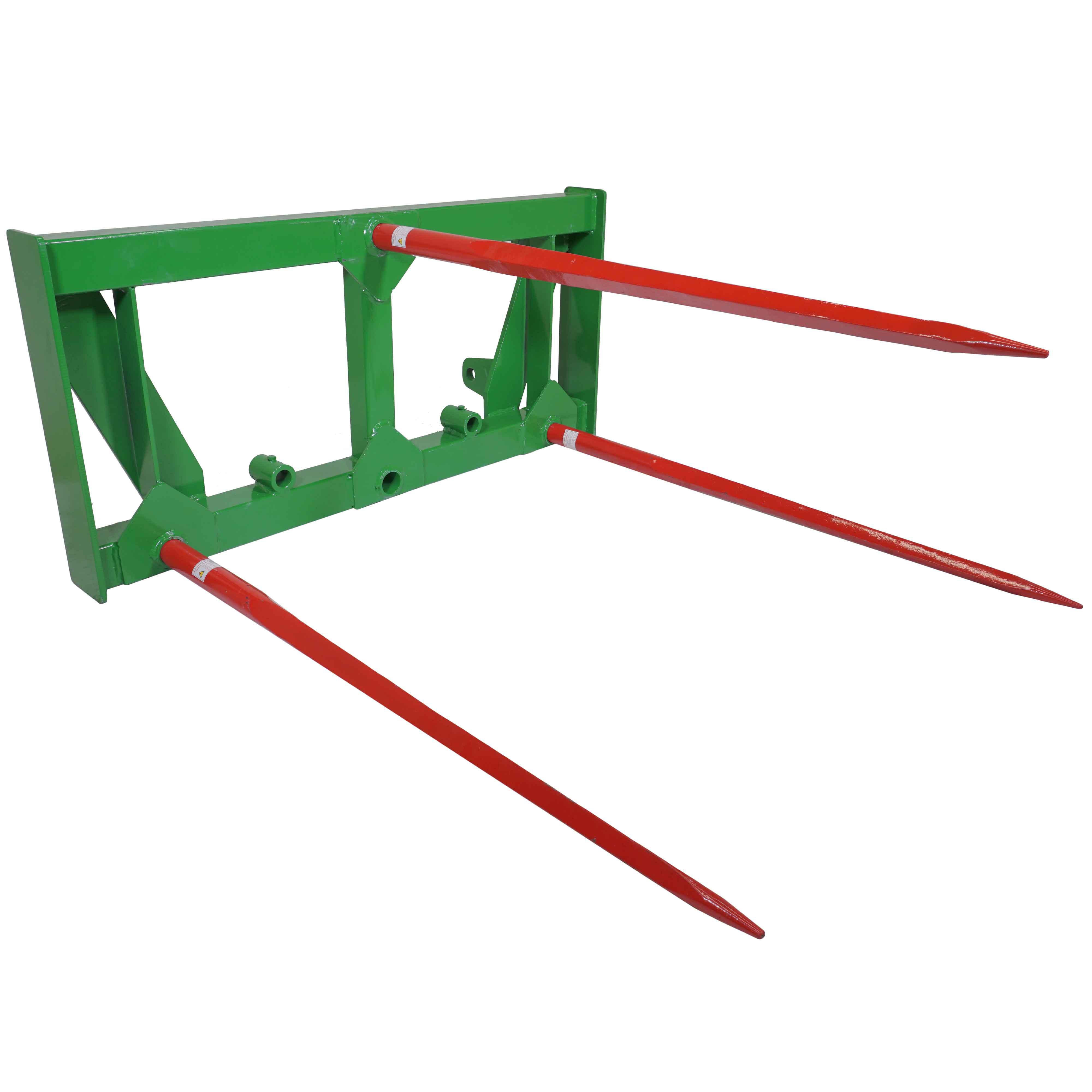 Titan John Deere Global Euro HD Frame Attachment 3 Hay Spears Loader Tractor