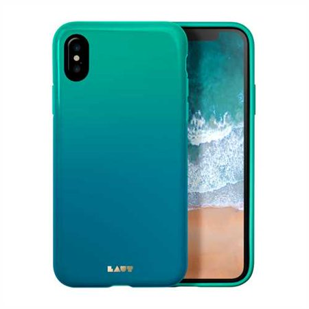 Laut Huex iPhone x Case - Fade Teal, Green