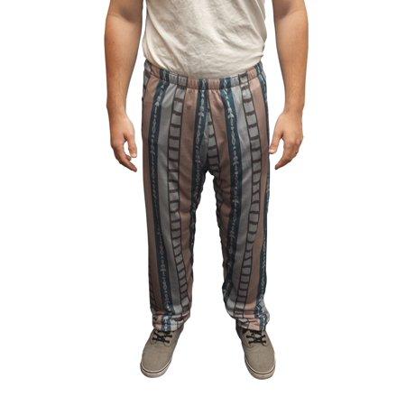 The Dude Pajama Pants Big Lebowski Jeffrey Costume Bottoms Movie Bowling Jeff](Lebowski Costume)