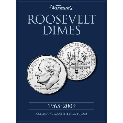Roosevelt Dime 1965-2009 Collector's Folder