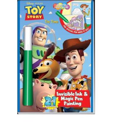 Toy Story Toy Time Invisible Ink And Magic Pen - Magic Ink