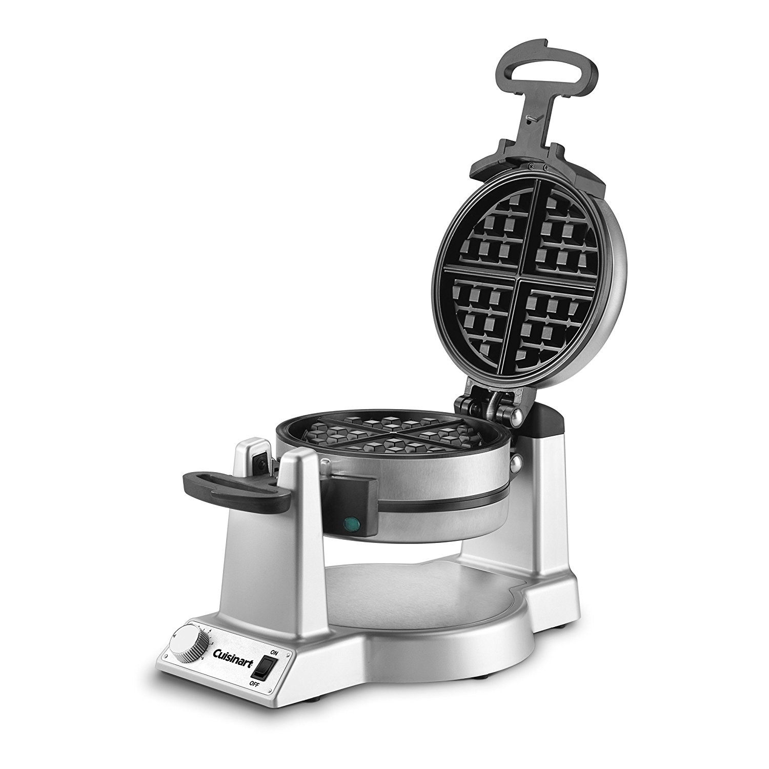 Cuisinart WAF-F20 Double Belgian Waffle Maker, Stainless Steel (Certified Refurbished)