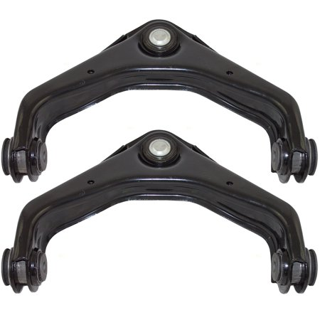 - Pair Set Front Upper Control Arms with Ball Joints & Bushings Replacement for Chevrolet GMC Hummer SUV Pickup Truck 25905442