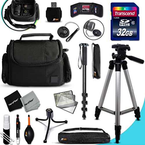 IDEAL Nikon Digital Camera Accessories KIT for Nikon Coolpix AW130, AW120, AW110, AW100, C810, S9900, S7000, S6900, S3700, S2900, S33, S32, S9700, S9500, S80, S60, S220, S210, S205, S200, S700, S600,