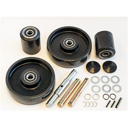 Electric Lift Truck 95A Durarun Poly Load Wheel Kit for  EPJ45 Load Lift Kit