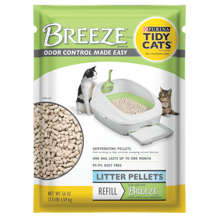 Purina Tidy Cats BREEZE Pellets Refill Cat Litter, 3.5-lb